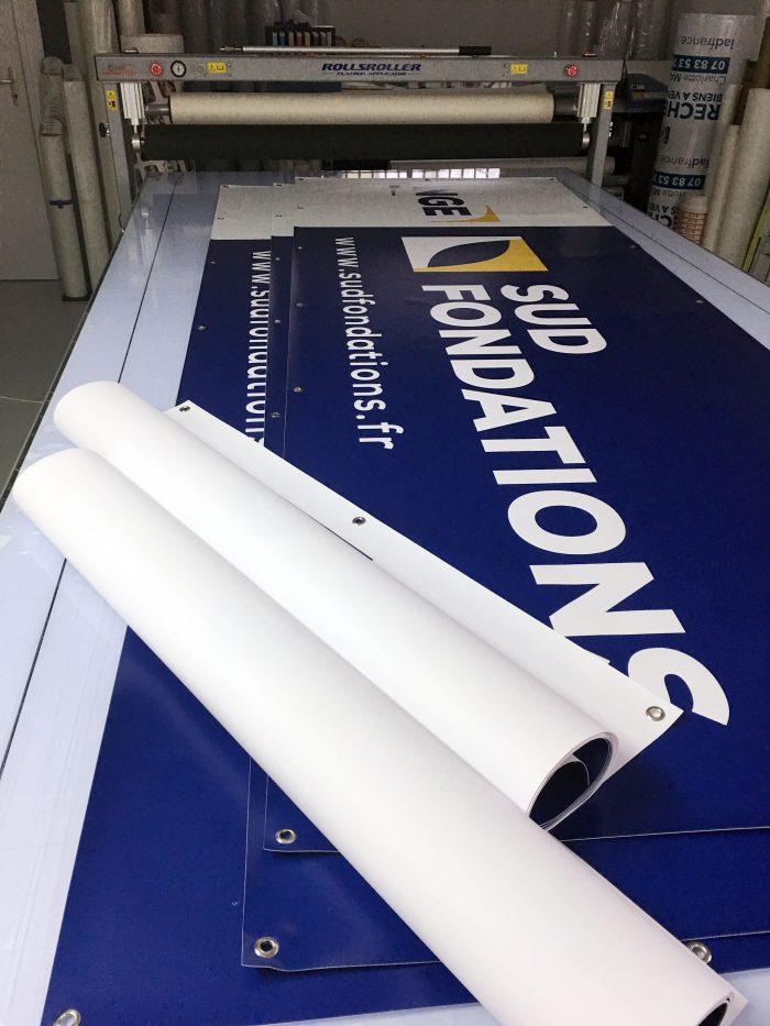 Réalisation de banderoles pour divers clients