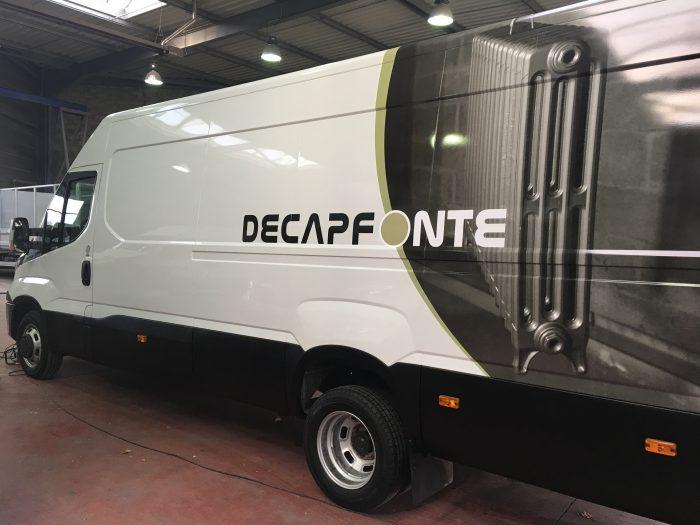 Covering complet d'un utilitaire pour Decapfonte