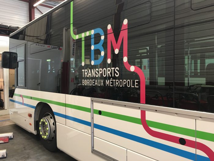 Stickage TBM Bus